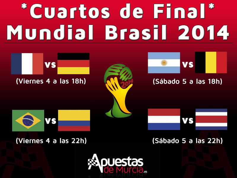 Cuartos de Final Mundial Brasil