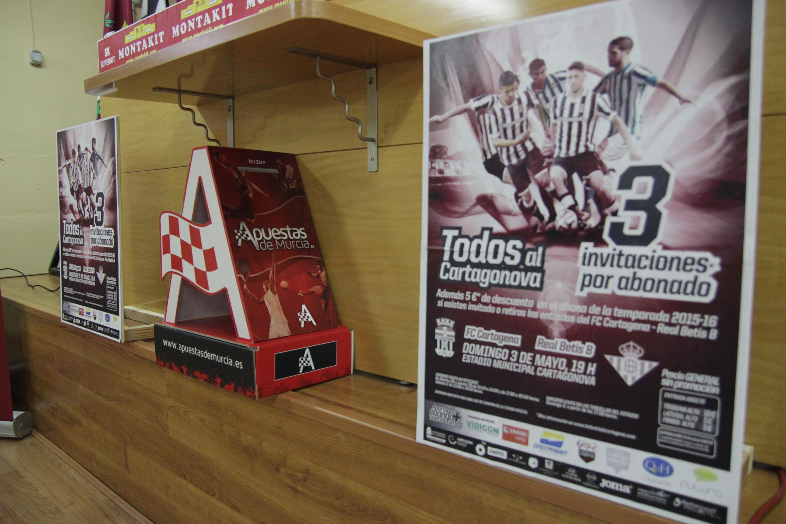 apuestas de Murcia patrocina FC Cartagena