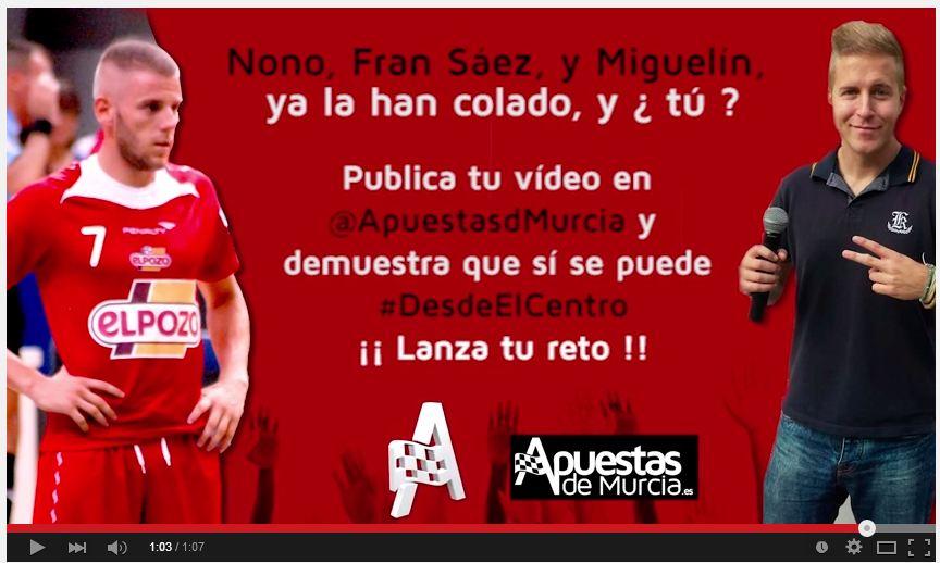 apuestas de Murcia Miguelin Fran saez